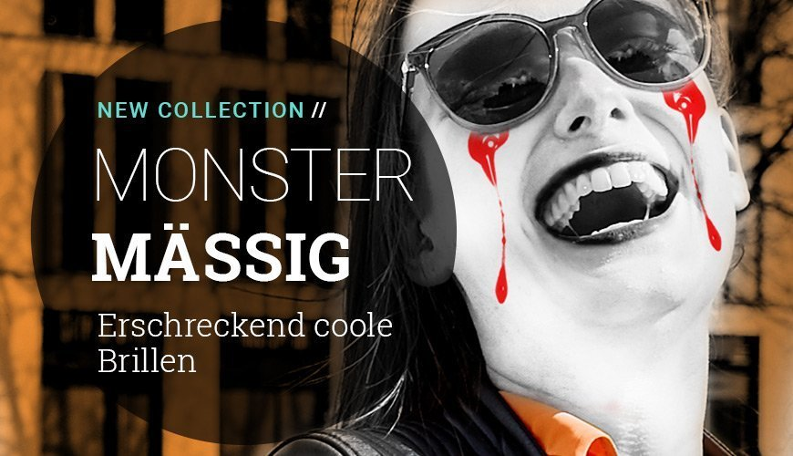 Halloween Collection – Erschreckend coole Brillen